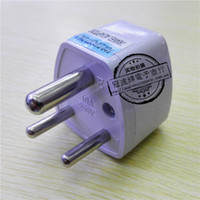 Wholesale South Africa Tourism conversion plug conversion plug three round plug India tourism factory price