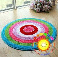 Wholesale DIY Mat Needlework Kit Unfinished Crocheting Rug Yarn Cushion Embroidery Carpet Rings