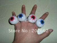 Wholesale CM LED flash finger ring LED light eye ring for Party