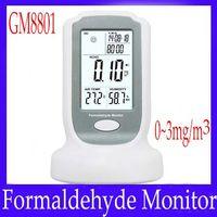 Wholesale Mini formaldehyde monitor GM8801 with buzzer alarm function MOQ