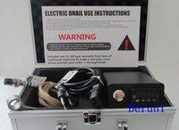 Wholesale 2015 cheapest D nail E nail temperature control box heater coils glass bong water piper for titanium nailwith DHL