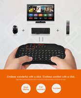 Wholesale 2 GHz wireless Keyboard with Touchpad Mini QWERTY keyboard with multimedia control keys and PC gaming control keys