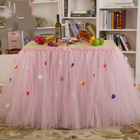 Cheap Tutu Table Skirt Best Tulle Table Skirt
