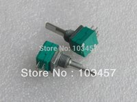 Wholesale Free shippping Fully Sealed Quadruple Precision Potentiometer Use for amplifier car amplifier instrumentation etc K