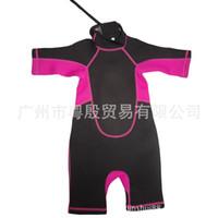 Wholesale Surfing diving DST223JR shorts children diving suit diving suit surfing warm clothes