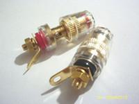 banana plug binding post - 50pcs mini Binding Post for Speaker Amplifier MM Banana Plug connector