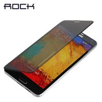 Cheap Case For Samsung Galaxy Note 3 N9000 Best Rock Smart Style Flip PU Leather