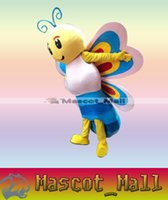 XL bee theme - MALL405 Professional Custom Garment Bee Butterfly Mascot Costume Cartoon Character Theme Anime Cosply Mascotte Costumes Fancy Dress Kits