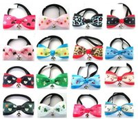 Muzzles beautiful pet animals - Beautiful Pet Dog Bow Tie Cat Tie Collar Dog Neck Tie Bell Collars Puppy Products