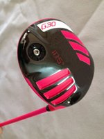 Wholesale 1pc Limited G30 golf driver graphite shaft come headcover golf clubs pink G30 driver top quality