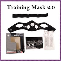 yoga equipment - Training sport mask tools High Altitude Simulation Cross Fit Yoga Fitness Equipment Boxing Fitness Equipment DHL