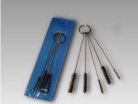Wholesale 10 Sets Tattoo Cleaning Brush for tattooo Tip Grip Tube Machine for beginner tattoo kits