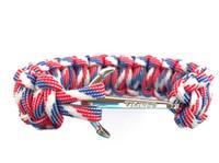2016 Plus nouveau Anchor Infinity Wrap Rope charme crochet de poisson avec corde nautique Paracord Bracelet pour hommes et femmes Miansai Style
