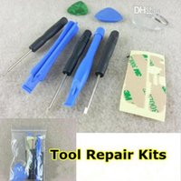 iphone4s cell phone - Repair Tool Kit Screwdriver Opening Pry Set Kits In For iPhone S C Crowbar Blue Shell for Apple iphone4s G iPod Touch Cell Phones
