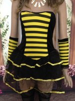bee costumes for adults - New Arrival Hot Popular Fancy Costumes For Adults Sexy Honey Bee Costume SB1194 sexy elf costume