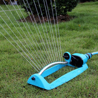 automatic greenhouse watering - Blue Automatic Garden Sprinklers Oscillating Watering Irrigation For Greenhouse Yard Supplies Water Hoses Tools