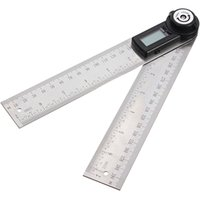 Wholesale 2 in MM Degree Lcd Digital Angle Finder Ruler Protractor