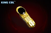 camera slider - Fast V9 mini luxury mobile phone with round screen Slide Keyboard gold cellphone new arrival fashion design