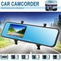 1 channel 2 channel dvr - 4 quot inch P Full HD Car DVR GPS Camcorder Dual Camera Channel Video Recorder G sensor HDMI Dash Cam View Angel