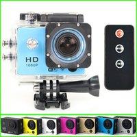 Wholesale WiFi Action Camera SJ7000 Gopro Style P Full HD Helmet DV Camcorder M Waterproof Diving Sport Camera Remote Control