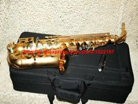 Others beautiful china patterns - NEW CTE Grind arenaceous Golden Alto Sax beautiful bE saxophone Carve patterns woodwind China factory