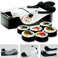Sushi Molds Plastic ECO Friendly Perfect DIY Roller Machine Roll Sushi Maker Easy Kitchen Magic Gadget Cooking Tools Curtain Bento Acessorios De Cozinha Rolls