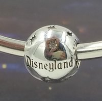 bead landing charms - Fits Pandora Bracelet Charms Dis Ney Land CHARM DIY Beads Solid Silver Not Plated