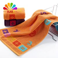 baby games home - TLFE Baby Game Gift Hand Towels Bathroom Cotton Fabric Soft Face Towels Set Home Textile cm toalhas FT171