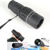 Wholesale Portable x52HD Optical Monocular Telescope Mono Night Vision Spotting Scope Hiking Camping Outfits OS601