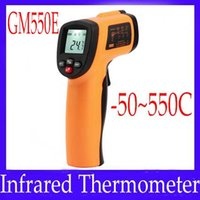 Wholesale Digital infrared thermometer GM550E infrared temperature meter temperature range C MOQ