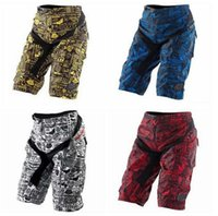 bicycle shorts loose - NEW High quality with Pad Moto Shorts Bicycle Cycling MTB BMX DOWNHILL Motorcross Short Color