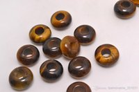big eye bracelets - Tiger Eye Jewelry Round Beads High Polished Loose Beads mm Big Hole Fit Charms European Bracelet DIY B107y