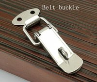 Wholesale Stainless steel box buckle clasp toolbox box spring buckle buckle buckle buckle luggage accessories duckbill