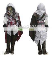 achat en gros de ezio costume-Haute Qualité Custom Made Ezio costumes Edward Kenway cosplay costume Assassins Creed Costume For Kids Livraison gratuite