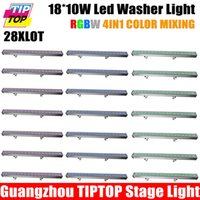 Others auto power washer - AC90 V High Power Led W LED Wall Washer Light Led Flood Light Waterproof RGBW Led Bar Light