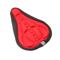 Wholesale Cycling Bike Saddles d Comfortable Silicone Gel Seat Cover Cushion Soft Thicker Mountain New Fashion Bicycle Pad Parts Saddle Acessories