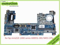 Wholesale DANM6DMB6D0 REV D Laptop Motherboard for HP Mini CPU N455 Atom GHz DDR3 only Mainboard full tested