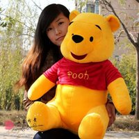 Wholesale High quality Winnie the Pooh Plush Toy Valentine s day birthday present cm WJ13