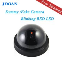 Wholesale JOOAN indoor outdoor Surveillance Dummy Ir Led Wireless Fake dome camera home CCTV Security Camera Simulated video Surveillance