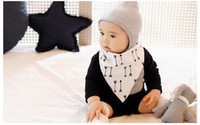 Wholesale 2016 Baby Cotton Bibs kids Double Layer Bandana Bibs Burp Cloths infant Girls Slabbetjes Babador Feeding Scarf