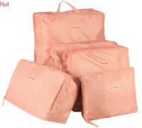 Wholesale Travel Organizador Hot set Storages Bags Multi Functional Home Cosmetic Bag Mesh Pouch Waterproof Storage Nylon Organizer SV027003