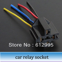 automobile wire harness - 20pcs Automobile relay socket with wire universal terminal relay wiring harness plug MM