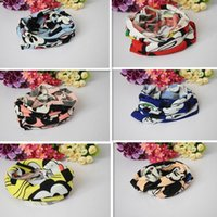 Wholesale Children Scarf New Girls Autumn Cartoon Character Printing and Cotton Set Head Scarf Fashion Boys Warm and Comfortable Scarf