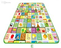 best picnic games - 1 Piece Brand NEW Large Child Baby toy Infant Crawling Pad Mat Baby s Climb Pad PE Picnic Mat Game Pad cm Best Gift
