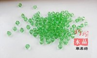 Wholesale Hot Sale MM DIY Crystal Crystal beads two sharp diamond tip beads Colors You Choose Best Gift