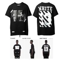 applique numbers - 2016 men brand summer Pyrex SS OFF WHITE OW T shirts Number Off White C O Virgil Abloh Trend Tees T shirt men swag clothes