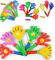 Wholesale 3sizes cm cm cm Big clap trap Clap Hands Cheer the props Advertising promotional gifts noise making toys party gift tools baby toy