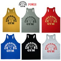 Men best tank tops for men - Cotton Gym Vest Loose Sports Training Vest for Muscle Men Top Cheap Sleeveless Boys Tanks Best Summer Gym Body Building Tanks L