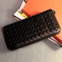 Wholesale The sale of the price of manufacturers hand woven Plaid handbags wallet couple candy fashionista small bag hand bag