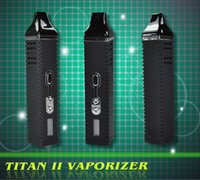 adjust temperature - e cigarettes Titan Hebe electronic cigarette kit Dry Herb Hebe Titan2 with mAh battery can adjust temperature with LCD display